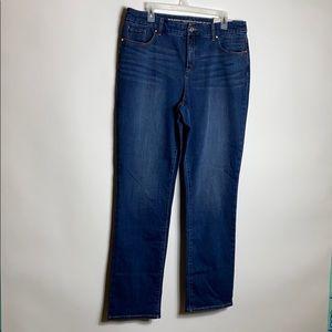 Chicos Womens Jeans Sz 12R / Chicos Sz 2R